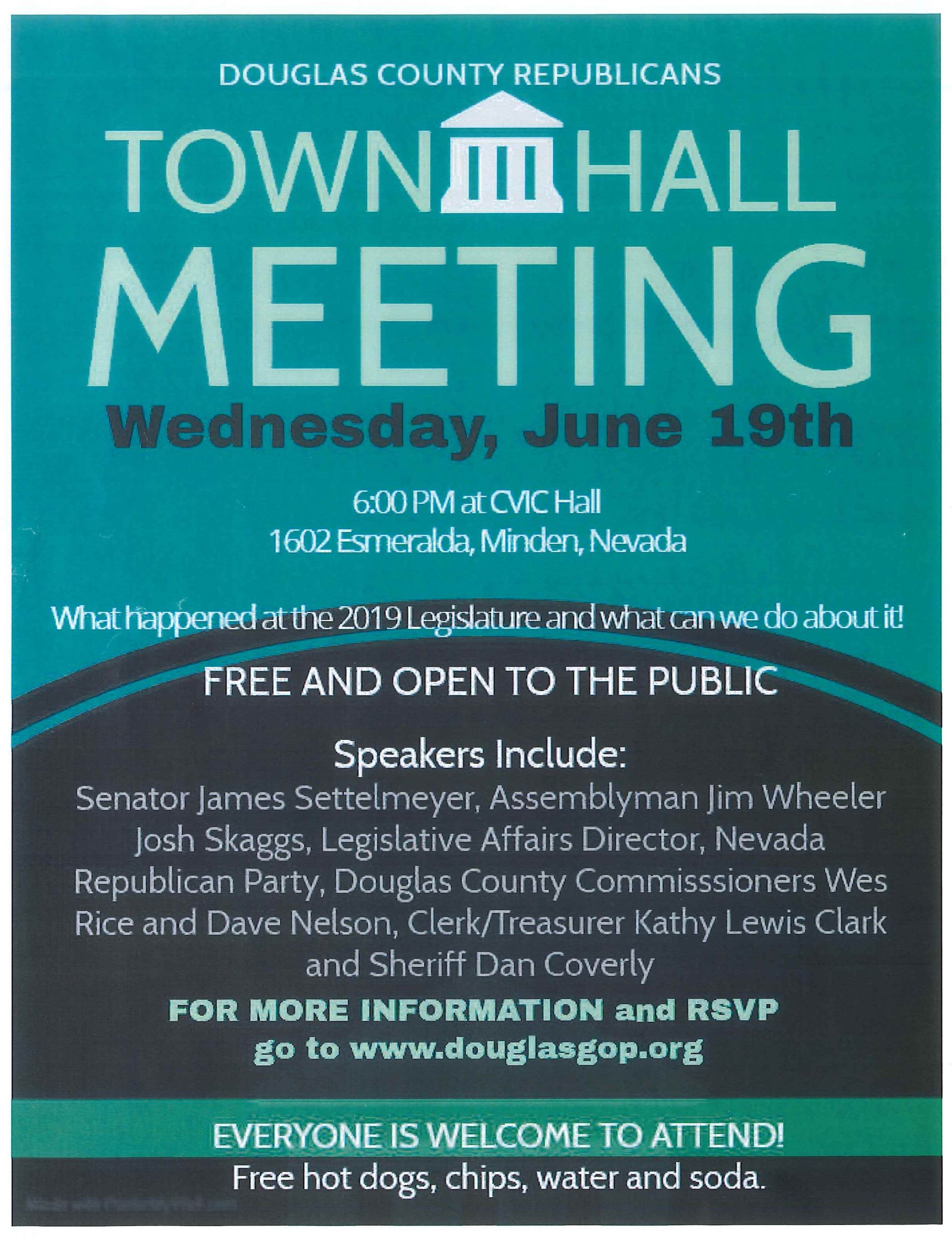 DC Republican Town Hall Meeting 2019