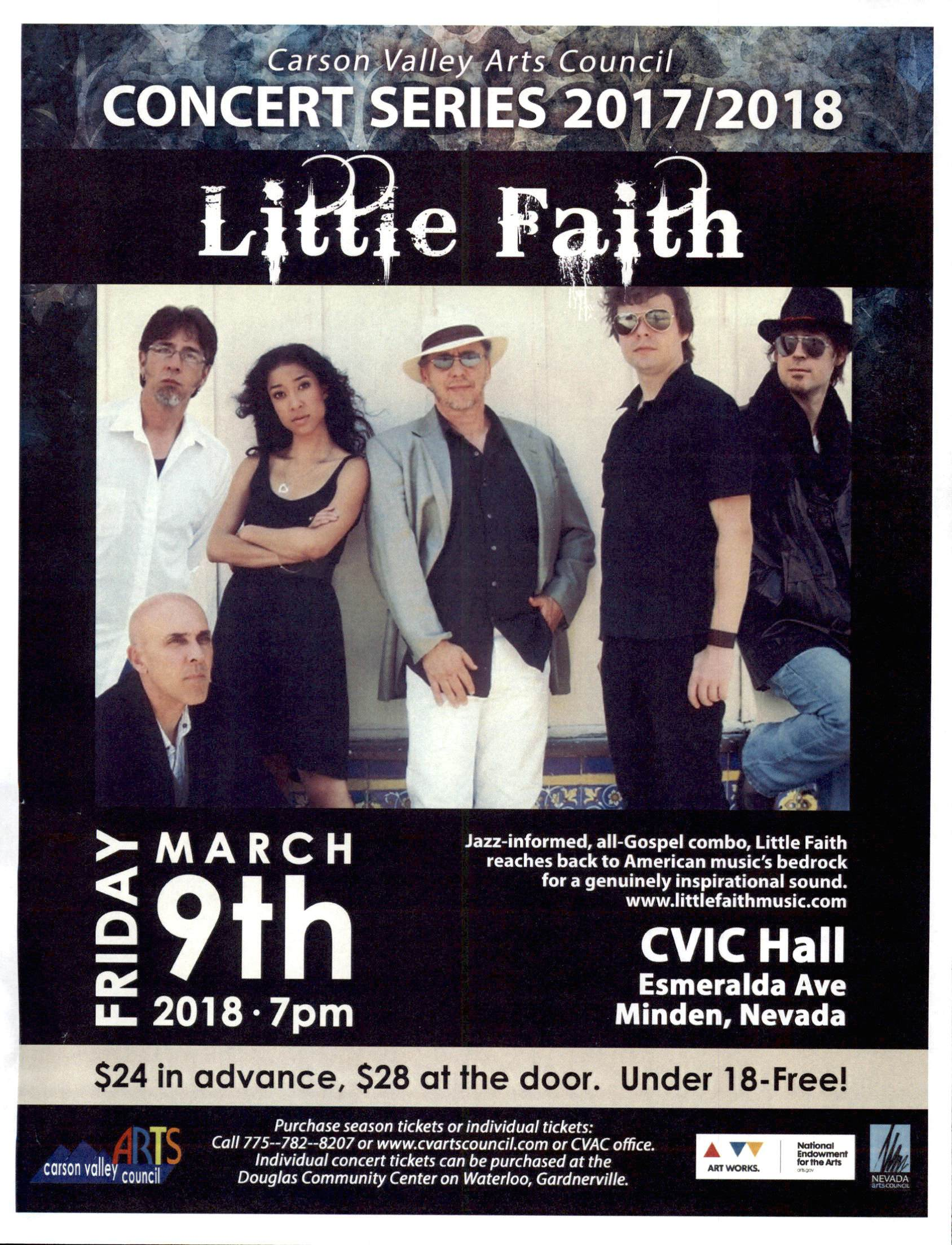 Little Faith Concert 2018
