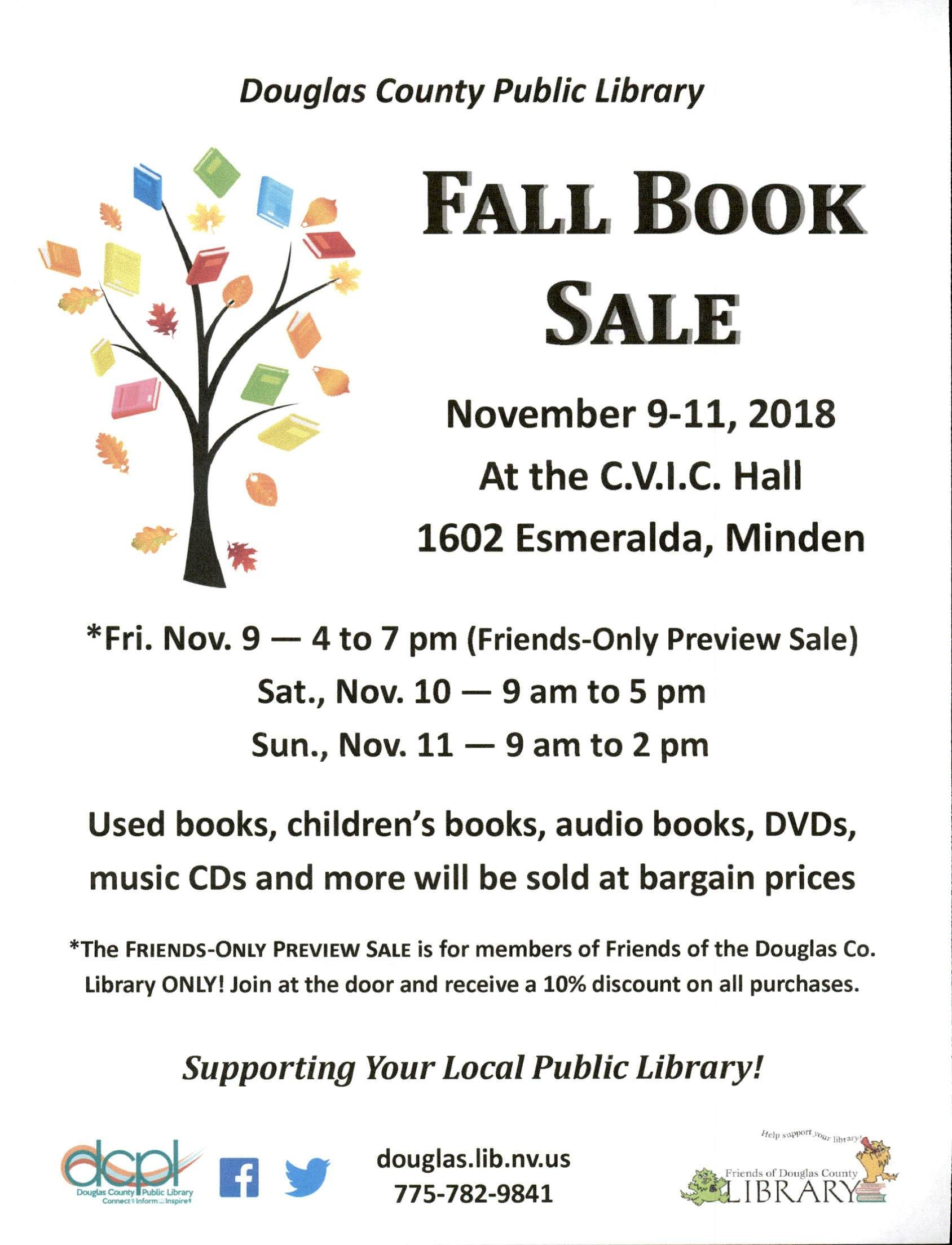 DC Library Fall Book Sale